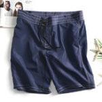 New Men Quick Drying Board Short Kintting Loose Shorts