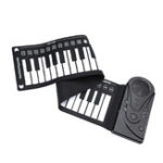 New Portable 49 Keys Hand Roll-Up Piano MIDI Electronic Keyboard