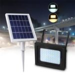 New Solar Power 54 LED Light Sensor Flood Spot Light Outdoor Garden Path Security Lamp
