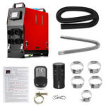 New All In 1 Integrated Machine 12V 8000W Diesel Air Heater LCD Car Air Parking Heater with Remote