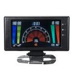 New 8V-18V 12V 6 in 1 LCD Digital Gauge Oil Pressure Voltage Water Oil Temperature Tachometer RPM Car