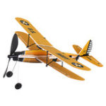 New STEM ZT Model 18 Inches STEARMAN Rubber Band Powered Aircraft Model Plane Toy