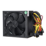 New 1000W PC Computer Power Supply Quiet 140mm Green LED Fan 24Pin SATA 6Pin 8Pin
