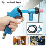 New PS-2 Heavy Duty Siphon Sandblaster Air Sand Blasting Feed Blast Tube Ceramic Nozzle Tip Kit