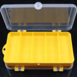New ZANLURE 17.5×9.5x4cm Fishing Tackle Box Fish Lure Box Fishing Hook Storage Case For Outdoor Fishing Hunting