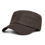 New Mens Cotton Patchwork Military Army Cadet Cap