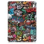 New Tri-Fold Printing Tablet Case Cover for Lenovo Tab E10 Tablet – Doodle