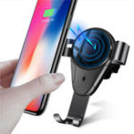 New Bakeey 5W 10W Qi Auto Fast Charging Wireless Car Charger Holder For iPhone X XR XS Max Xiaomi Mi8 Mi9 HUAWEI P20