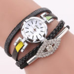 New DUOYA D256 Retro Style Diamond Gift Women Bracelet Watch