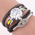 New DUOYA D256 Retro Style Diamond Gift Women Bracelet Watch