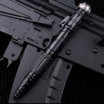 New FREE SOLDIER AI0146 Mini Pen Shape Tactical Flashlight EDC Emergency Safe Hammer Whitting Pen