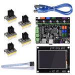 New BIGTREETECH SKR V1.1 32-Bit MKSGEN-L Control Mainboard+TFT35 Display Screen+5Pcs TMC2130 Driver Kit for Reprap 3D Printer