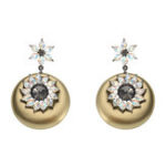 New JASSY® Vintage Round Ear Drop Earring