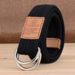 New 110×3.8cm FENGMIN T-5 Double Buckle Tactical Belt Adjustable Waist Belt Casual Belt For Man Woman Nylon Waistband For Camping Hunting