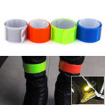 New OUTERDO Fluorescent Cycling Wheel Reflector Bike Sticker Reflective Tape Reflective Sticker Bicycle Accessories