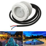 New AC12V 6W Swimming Pool SPA LED Light RGB Multi-color Underwater Landscape Light