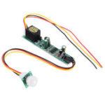 New 5pcs DC 12V 5A IR Pyroelectric Infrared PIR Motion Sensor Detector Light Module