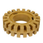 New 4 Inch 30MM Rubber Eraser Wheel Withstand up to 3500 RPM