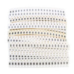New 3300Pcs 33 Values 20 Each 1206 SMD Resistor Kit Assorted Kit 1ohm-1M ohm 1% Sample Kit