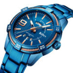 New BIDEN BD0137 Waterproof Business Style Quartz Watch