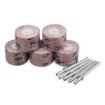 New 5pcs 80-600 Grit 20mm Sanding Wheel Discs Grinding Sandpaper Rotary Accessories
