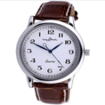 New Deffrun Retro Style Reverse Time Movement Couple Watches