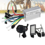 New BIKIGHT 24V-48V 250W Bike LCD Smart Display Brushless Motor Controller Scooter E-Bike Electric Bicycle Accessories