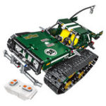 New 13025/26 2.4G Suspension Vehicle Building Block Kits Tracked RC Car DIY Bricks Toys 626Pcs