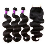 New 100% Brazilian Body Wave Lace Human Hair Extensions