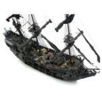 New Pirate Full Scene Black Pearl Sailing Ship Boats Model Kit DIY Crafts