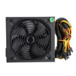 New 1200W Computer Power Supply Module PC PSU 24Pin SATA 6Pin 4Pin Quiet LED Fan 80 Plus