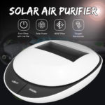 New DC 5V Solar Air Purifier Deodorant Sterilization Formaldehyde PM2.5 HEPA Filter
