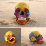 New 4D MASTER Human Skull Colorful Medical Model Science Skeleton Assembled Model