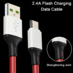 New Bakeey 2.1A Type C 1M 2M Fast Charging Color Data Cable For Xiaomi HUAWEI Honor HTC