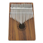 New IRIN 17 Keys Wooden Kalimba Solid Wood Thumb Piano Finger Percussion