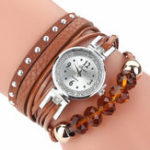 New DUOYA D214 Crystal Casual Style Women Bracelet Watch