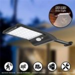 New 3pcs Solar Powered 36 LED PIR Motion Sensor Waterproof Street Security Light Wall Lamp for Outdoor Garden