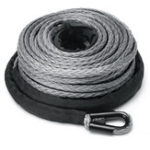 New 10mm 30m 23809LBS 100ft Winch Rope Line Recovery Cable Synthetic 4WD ATV Heavy Duty