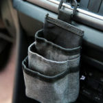 New Oxford Car Air Vent Storage Bag Sundries Storage Bucket Hanging Pocket Pouch