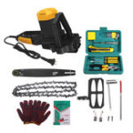 New 4880W Multi-functional Hand-held Electric Chain Saw Chainsaws Wood Cutting Saws Set