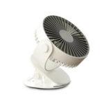 New KCASA 4W Mini USB Rechargeable Clip Desk Fan Air Cooling Fan Home Student Dormitory Portable Desktop Office Fan