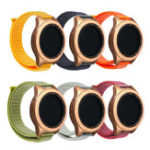 New 20mm Nylon Watch Strap Watch Band Replacement For Samsung Galaxy Watch Active 2019