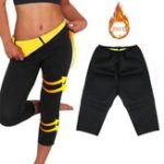 New Women Sauna Neoprene Fitness Gym Yoga Pants Body Shaper Hot Sweat Slimming Thermo