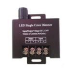 New DC12-24V 30A Single Color LED Strip Light Dimmer Controller with Knob Switch