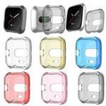 New KALOAD TPU Shell Edge Protection Screen Watch Protector Case Cover for Fitbit Versa Lite