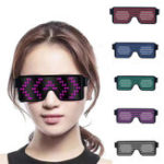 New Neon LED Light Up Shades Glasses Glowing Flashing Sunglasses