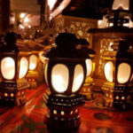 New Battery Powered EID Ramadan Moon Islamic 10 LED Lantern String Light for Indoor Party Decor