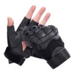 New 1Pair KALOAD Outdoor Tactical Glove Half Finger Gloves Sports Climbing Cycling Fitness Anti-skid Gloves
