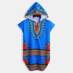 New Mens Ethnic Style Cotton Hooded Casual T-Shirts