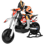 New BSD Racing 404T 1/4 2.4G 4WD 60km/h Brushless Rc Motorcycle Electric On-Road Car Model